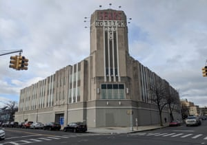 The famous art deco Sears store in Brooklyn, New York. Eleanor Roosevelt was the first shopper in 1932.