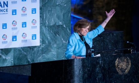 'It is not too late to act to protect our global marine ecosystems.' Sylvia Earle on World Oceans Day 2017.