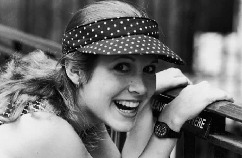 Carrie Fisher in 1980.
