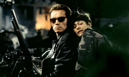 Terminator 2: 'The Terminator would never stop. It would never leave him, and it would never hurt him, never shout at him, or get drunk and hit him, or say it was too busy to spend time with him. It would always be there.'