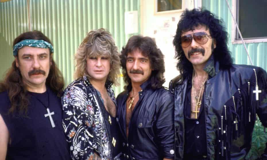 Highs and lows … Black Sabbath.