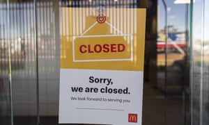 McDonald's Laverton North closed its doors on Monday. The fast food chain has closed 12 restaurants across Melbourne for deep cleaning after an external delivery driver tested positive for Covid-19.