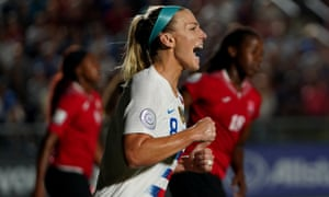 Julie Ertz says the USA's unbeaten year has brought a lot of confidence before the team defend their world title in France.