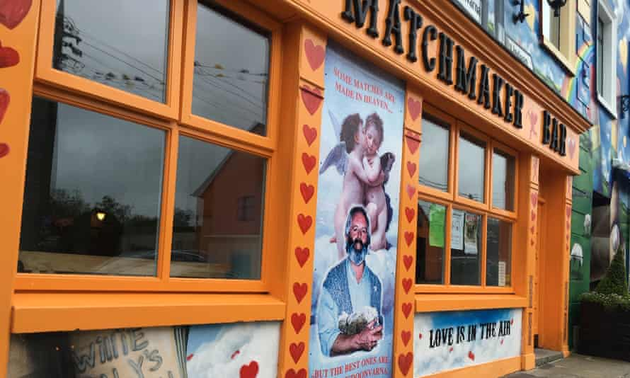 The Matchmaker bar in Lisdoonvarna on the eve of the month-long festival