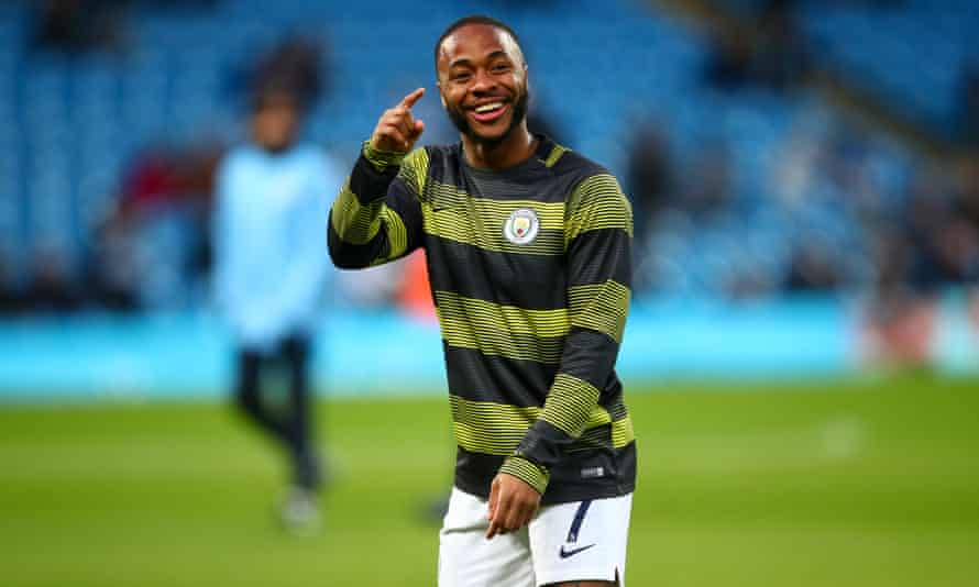 Raheem Sterling grew up in north London, near Wembley, and will play in the FA Cup semi-final against Brighton.