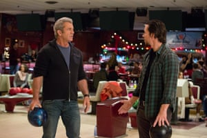 Mel GIbson and Mark Wahlberg in Daddy's Home 2.