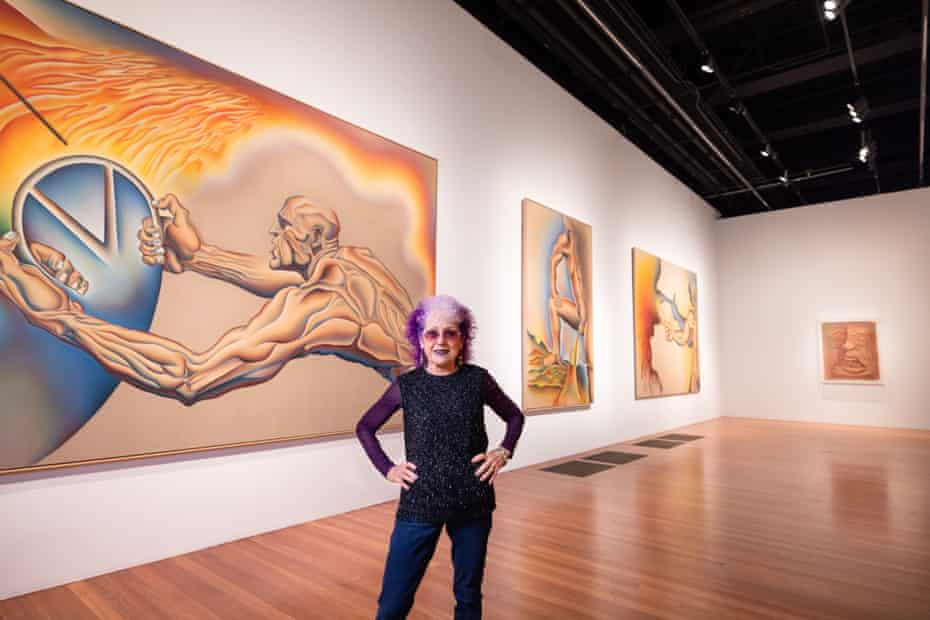 Judy Chicago's six-decade career focused on challenging or uncomfortable themes.