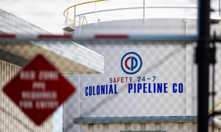 A cyberattack forced the shutdown of 5,500 miles of Colonial Pipeline's sprawling interstate system.