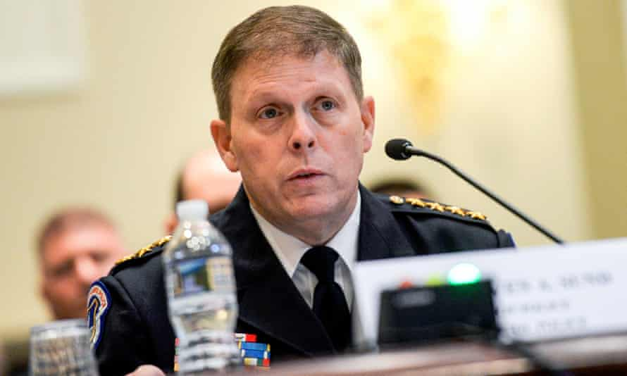 Steven Sund, chief of the US Capitol police