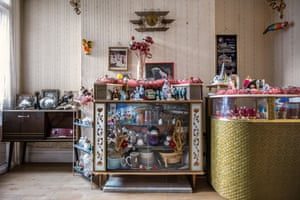 The 'front room', used only for very special occasions, from Windrush generation portraits by Jim Grover