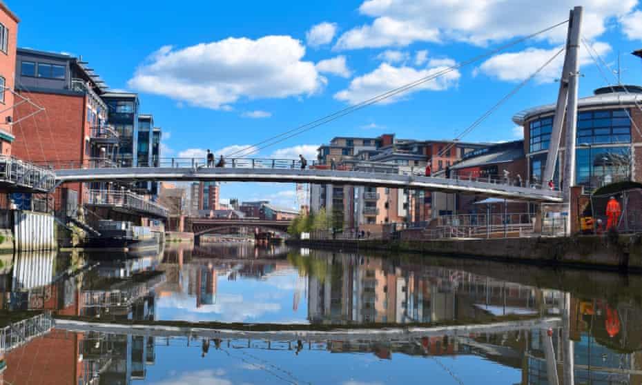 Leeds waterfront.