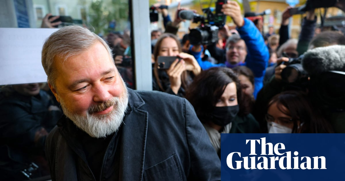 Dmitry Muratov: the Nobel winner shining light on Russia journalist murders
