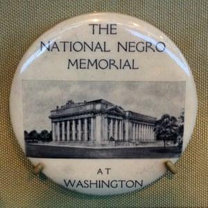 The unbuilt 1920s design for a National Negro Memorial.