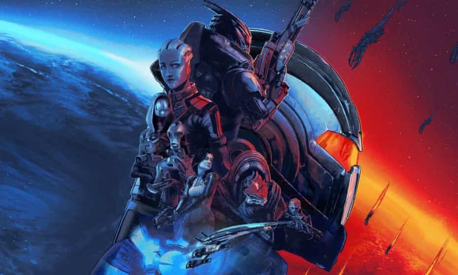 Mass Effect Legendary Edition.
