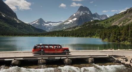 A tour in Glacier National Park, Montana.