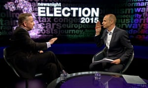 Michael Gove interviewed on Newsnight Election 2015