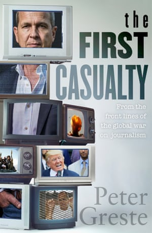 Cover image for The First Casualty by Peter Greste