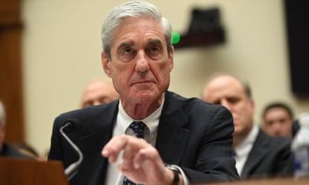Robert Mueller testifies before Congress in July last year. Weissmann says Mueller was afraid of being fired.