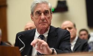 Robert Mueller testifies to Congress.