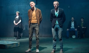 Robust ... Trainspotting at Citizens theatre, Glasgow.