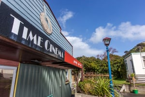 The Time cinema – screening classics including British and American comedies of yesteryear – is going on the market along with the house.