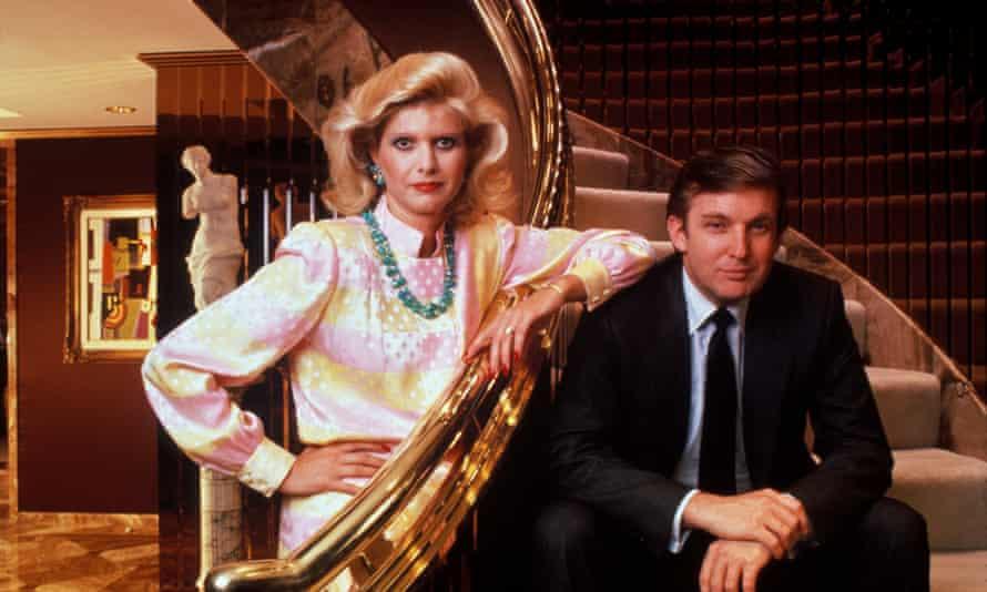 Donald and Ivana Trump.