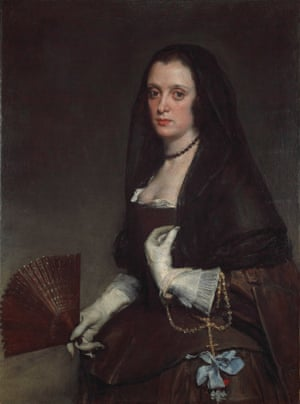 The Lady With a Fan, circa 1640, by Diego Velázquez