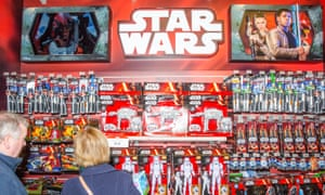 'The most enterprising marketing of crap ever conceived by man': Star Wars merchandise hits the shops.
