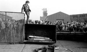 Industrial frontline … Easington Colliery, County Durham