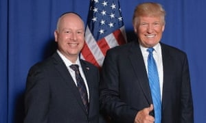 Greenblatt and Trump.