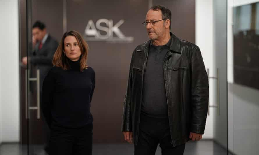 Camille Cottin with Jean Reno in series 4 of Call My Agent.