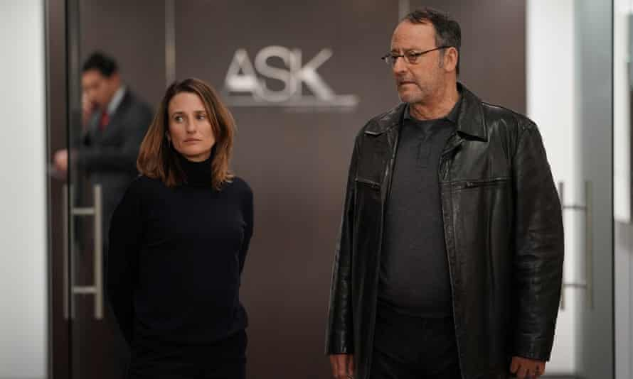 Camille Cottin with Jean Reno in Season 4 of Call My Agent.