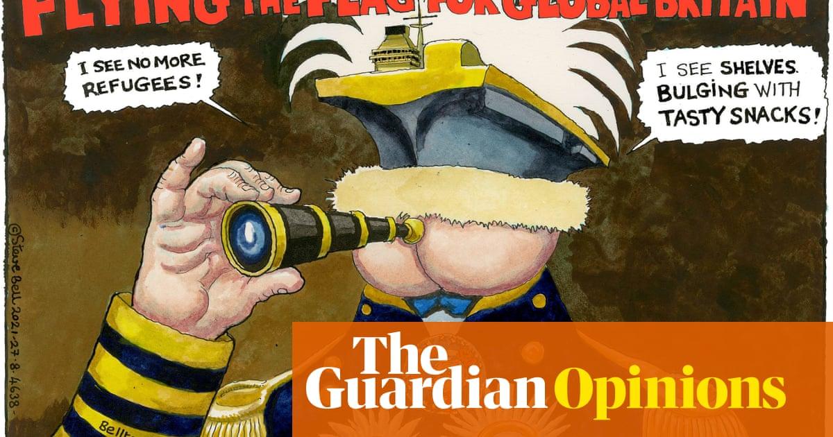 Steve Bell on Boris Johnson's global Britain — cartoon