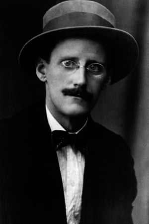 The dapper James Joyce.