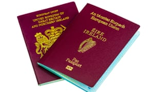 UK and Irish passports