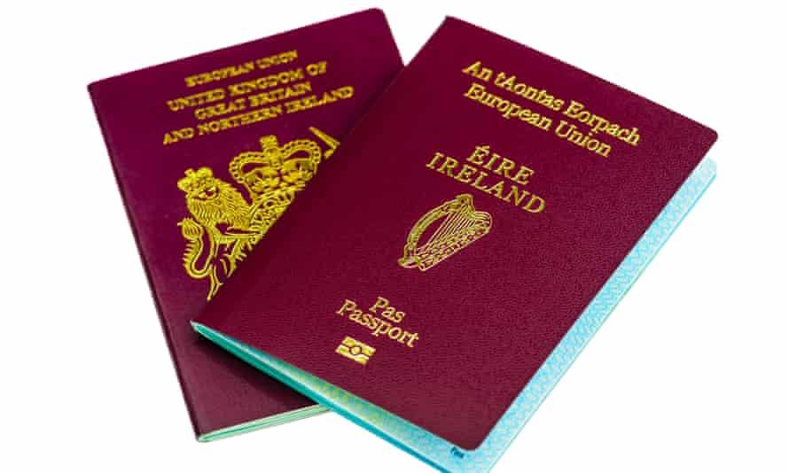 UK and Irish passports