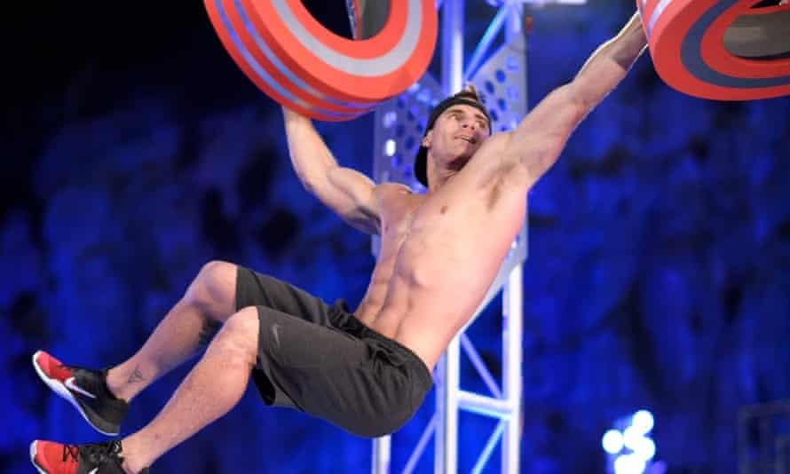 Jaymes Wright in the first semi-final of Australian Ninja Warrior