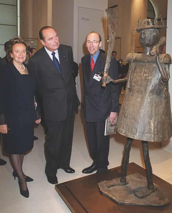 Bernadette and Jacques Chirac, left.