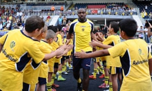 A warm welcome for Darius Vassell at Ankaragucu