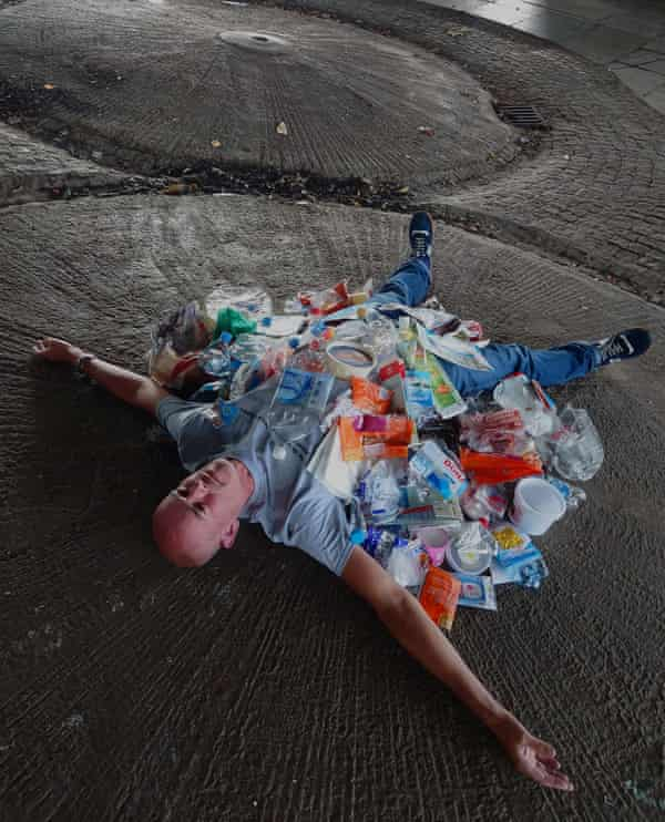 'You wouldn't believe what we found'… Rob Hamp's Art Can Be Rubbish Too project.