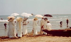Love's a beach … Luchino Visconti's 1971 film adaptation of Death in Venice.