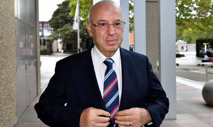 Eddie Obeid arrives at the NSW supreme court at an earlier hearing
