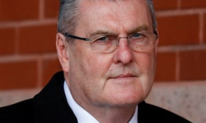 Former Sheffield Wednesday club secretary Graham Mackrell leaves court