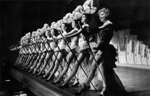 The chorus line from Emile Littler's hit West End show Zip Goes A Million in 1951.