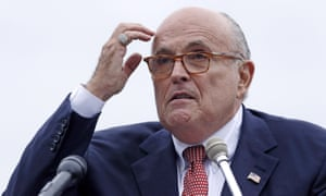 Rudy Giuliani, who accidentally helped create a new anti-Trump protest website with his Twitter typo.