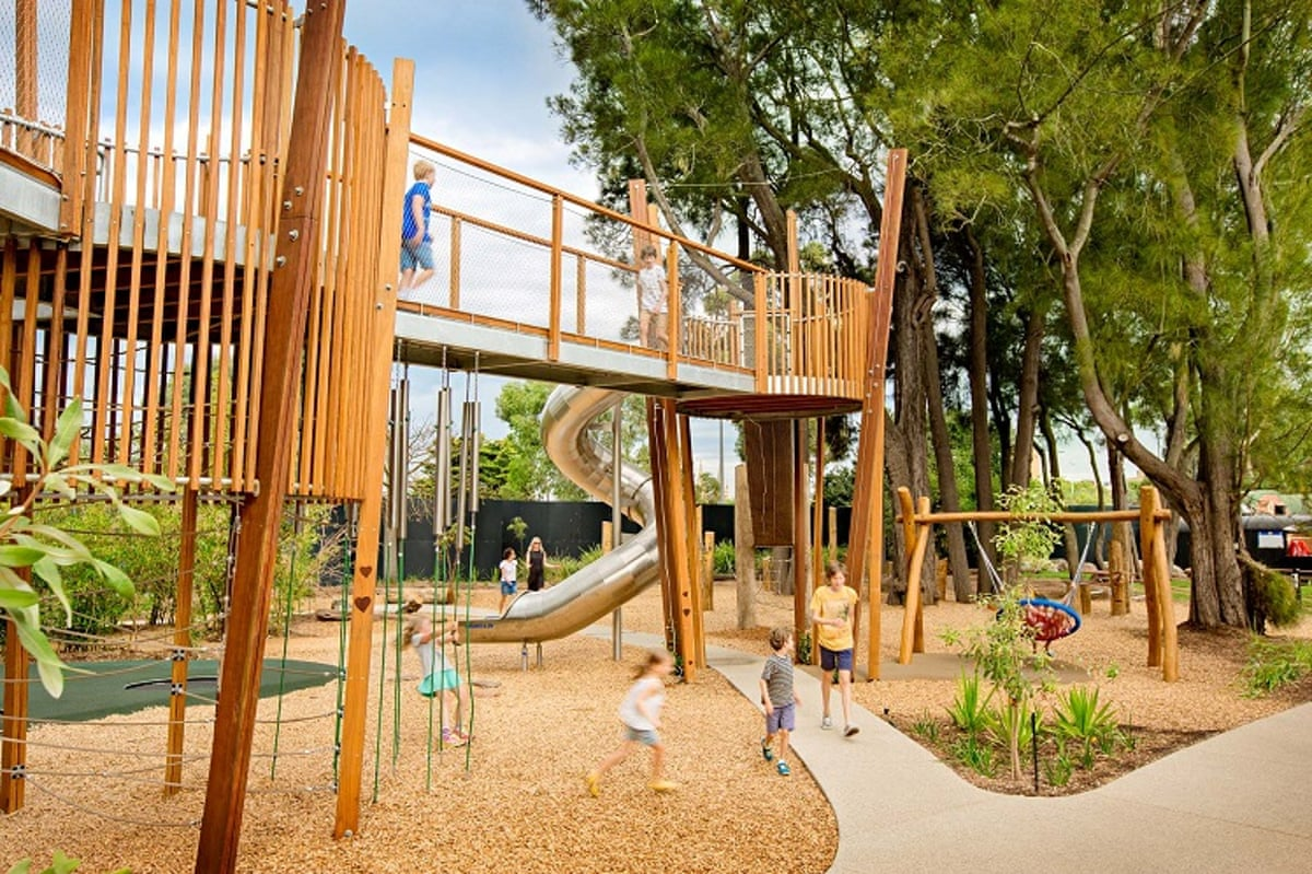 Ten of the best australian playgrounds in pictures art for Landscape architect jobs adelaide