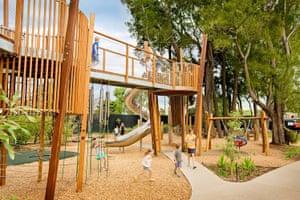 Adelaide zoo's nature's playground