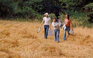 Crew in the field