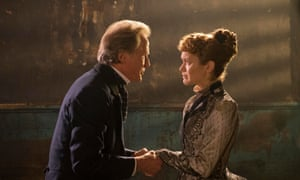 Bill Nighy and Olivia Cooke in The Limehouse Golem.