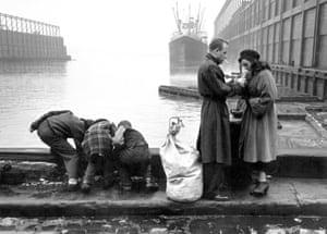 Hudson River, 1955